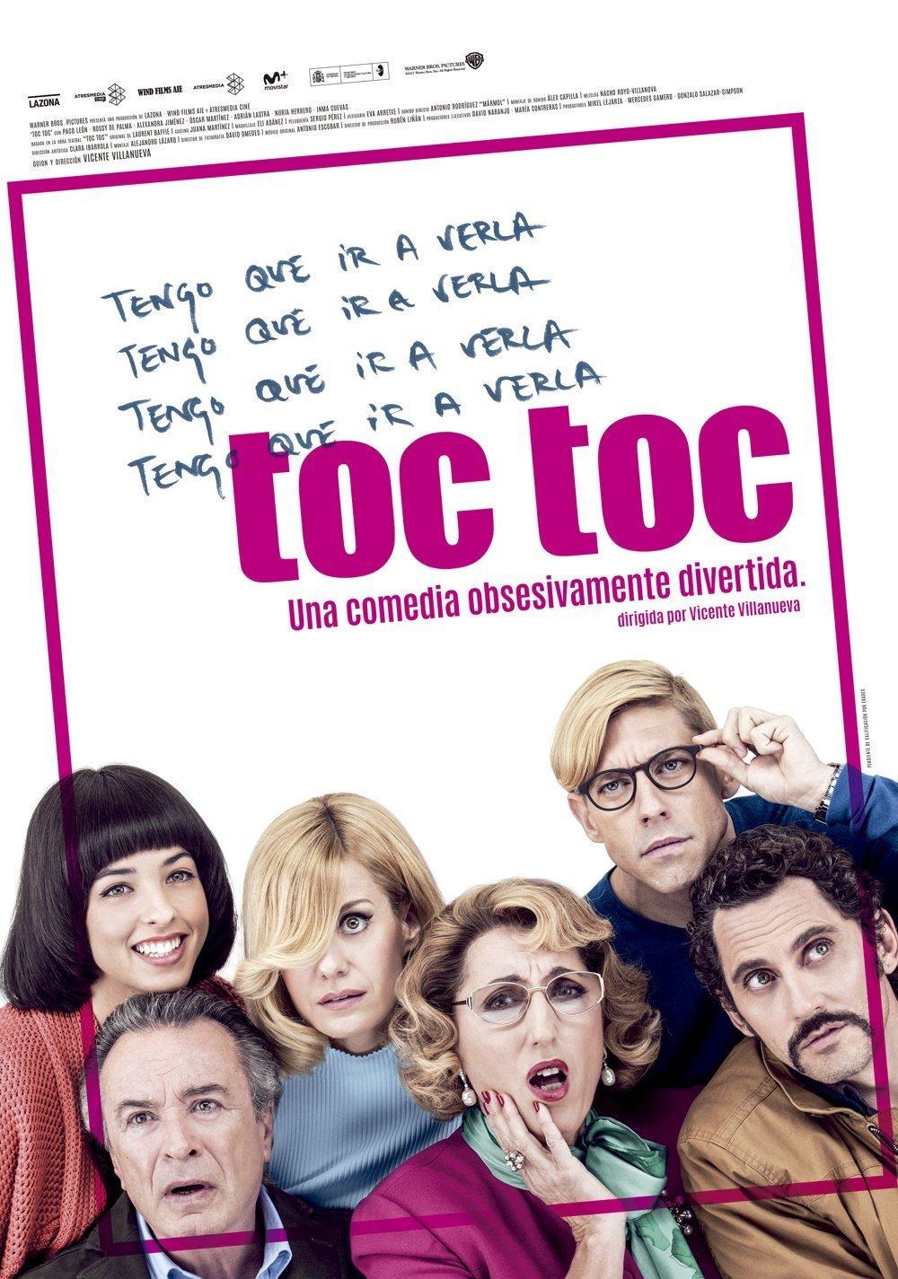 """Pósters de la película """"Toc Toc"""""""