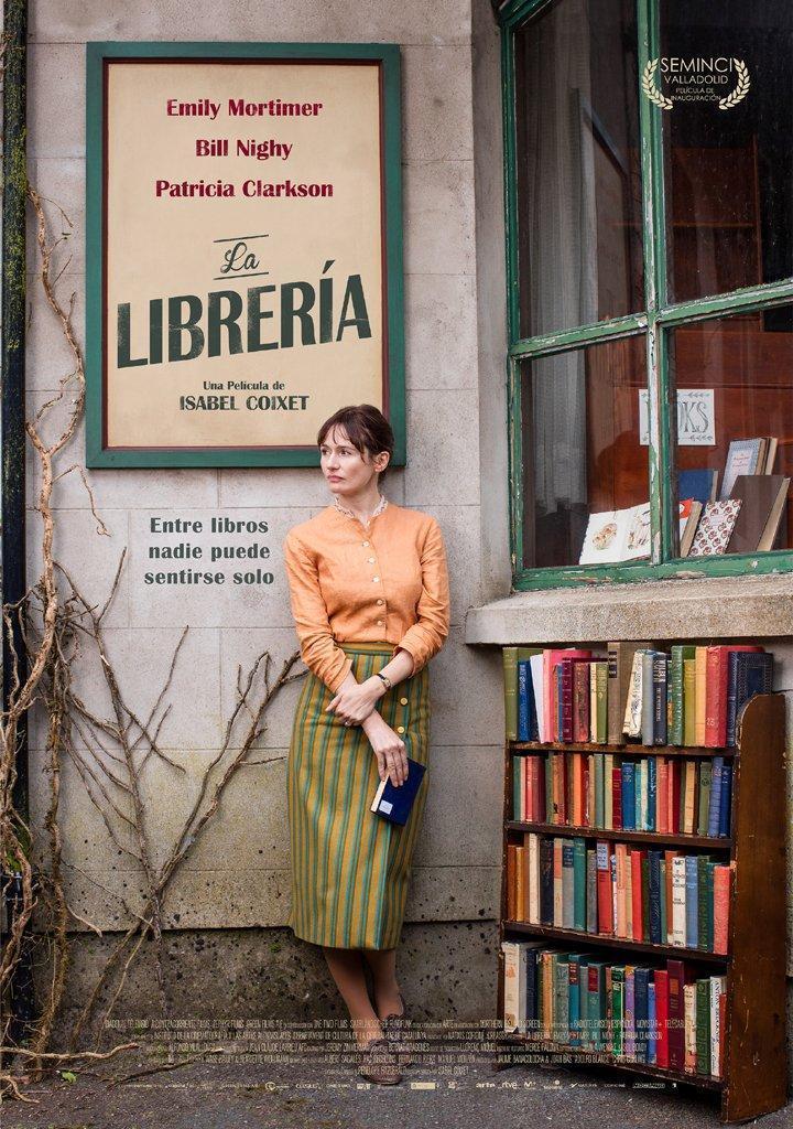 """Pósters de la película """"La librería"""""""