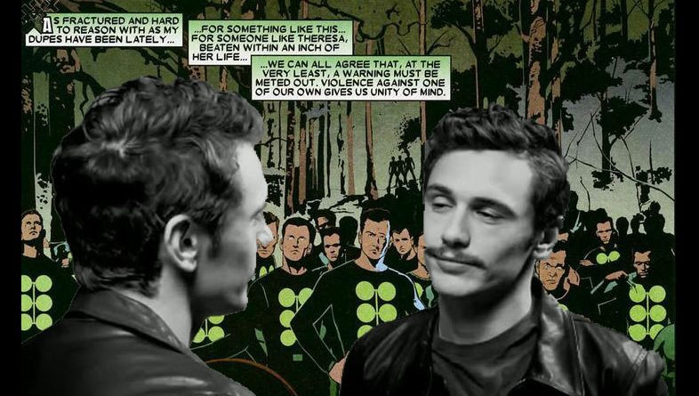 Multiple Man James Franco