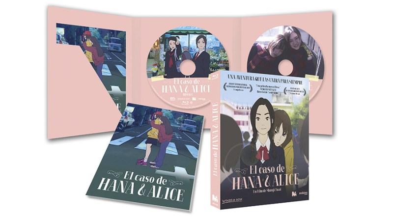 'El caso de Hana y Alice': Ya a la venta en DVD y Blu-ray de la mano de Mediatres Estudio