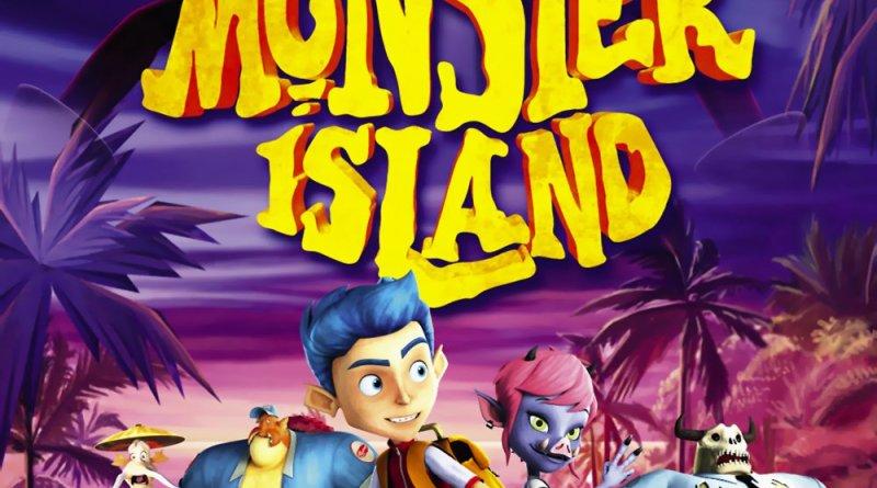 """Pósters de la película """"La isla de los monstruos"""""""