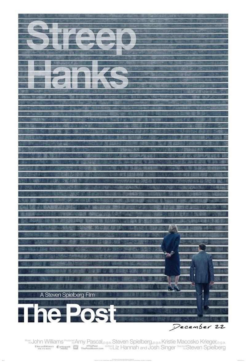 'Los archivos del Pentágono': Primer tráiler y póster de la nueva película de Steven Spielberg con Tom Hanks y Meryl Streep