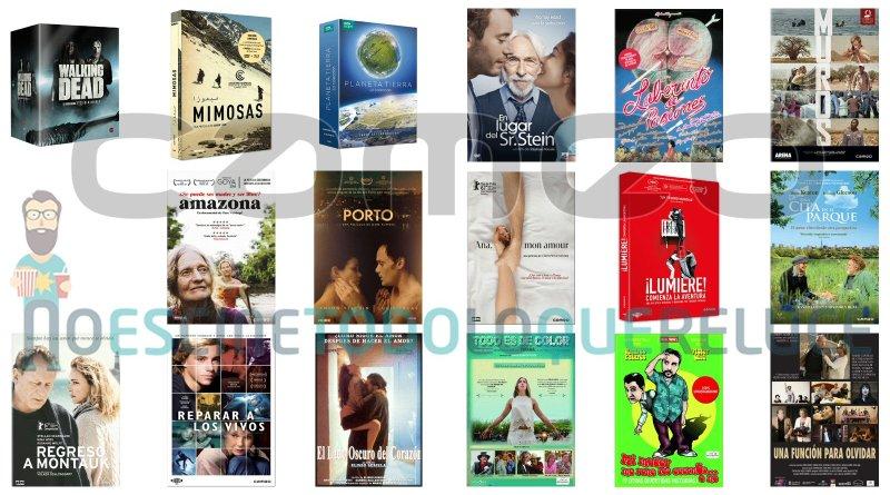 Lanzamientos de diciembre en DVD y Blu-ray de Cameo