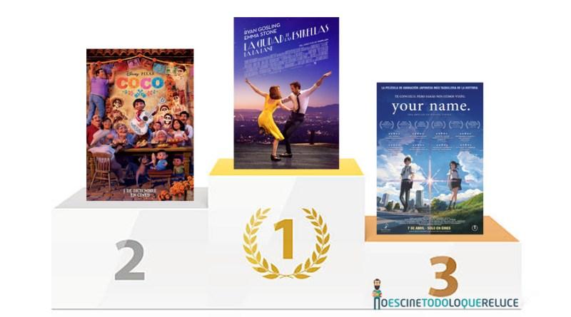 Las 10 mejores películas del 2017 (para No es cine todo lo que reluce)