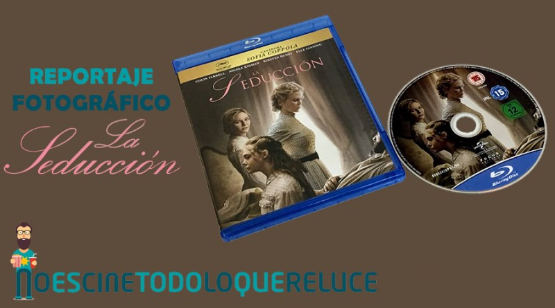 'La seducción': Reportaje fotográfico y detalles de la edición Blu-ray