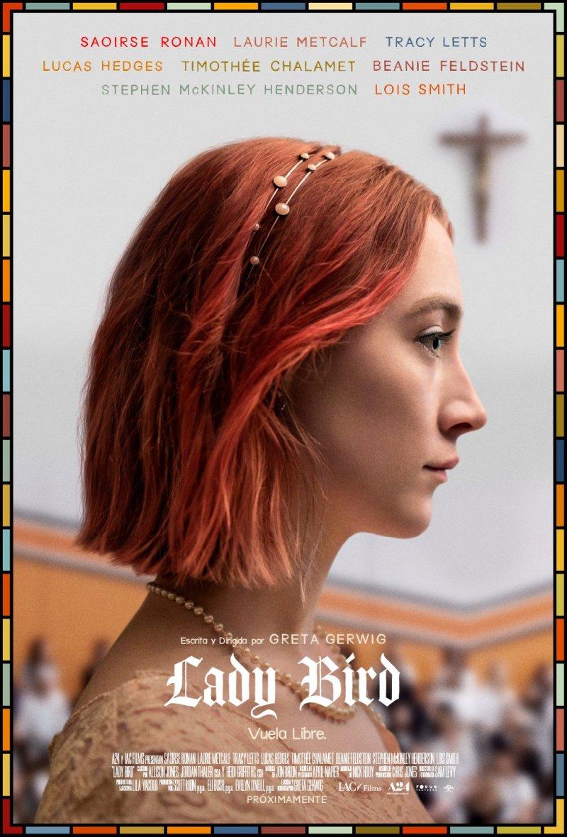 'Lady Bird': Póster y tráiler español tras ganar dos Globos de Oro