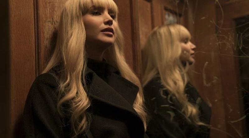 'Gorrión Rojo': Póster de la película con Jennifer Lawrence