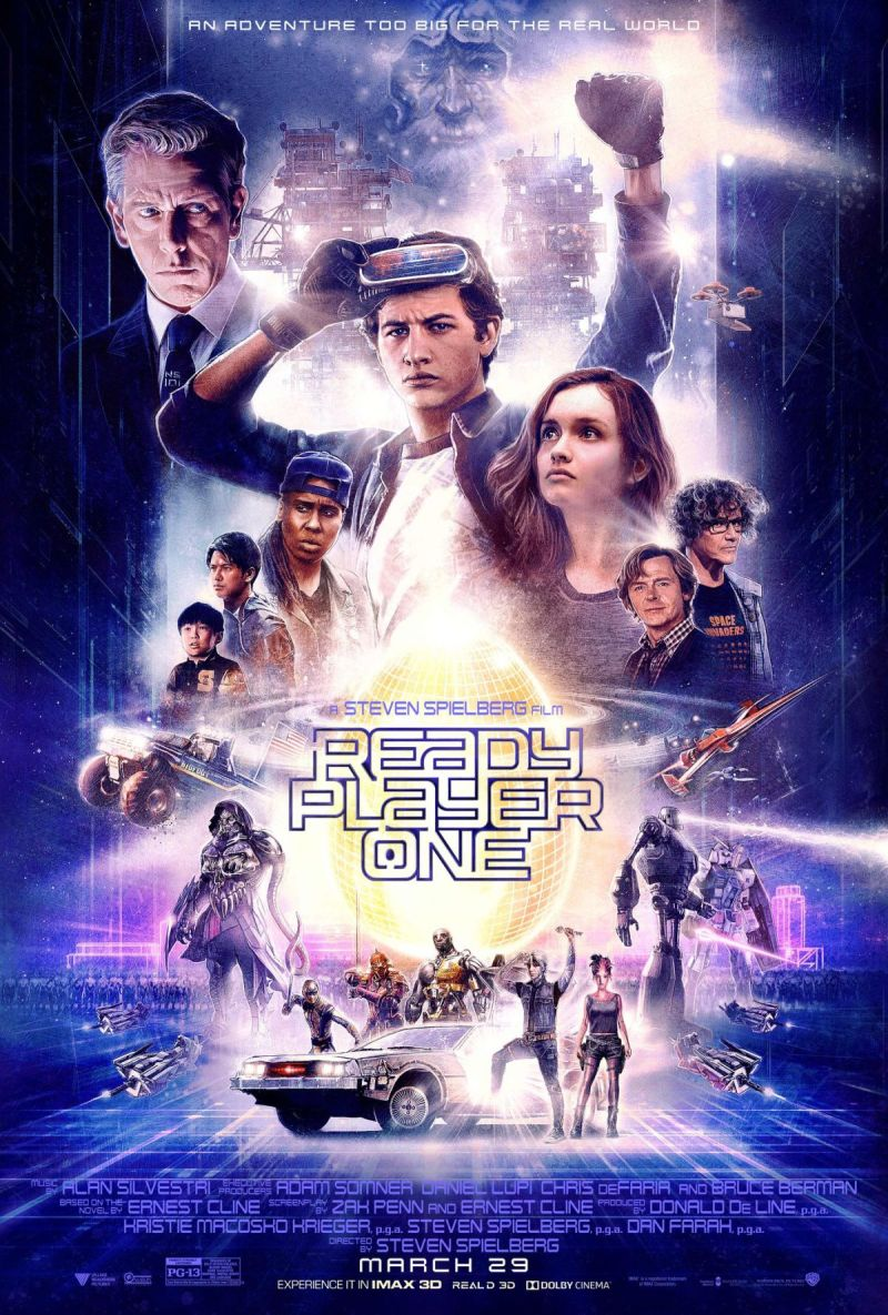 Ready Player One Principal Poster