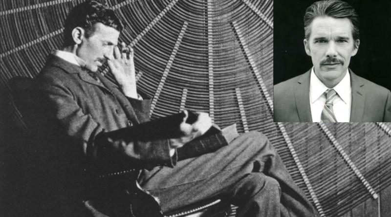 Ethan Hawke será Nikola Tesla en un biopic del inventor