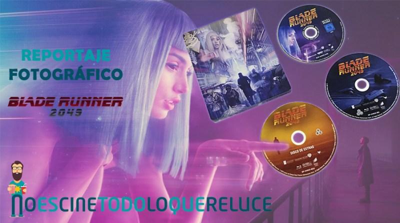 'Blade Runner 2049': Reportaje fotográfico y análisis de la edición metálica (4K UHD Blu-ray)