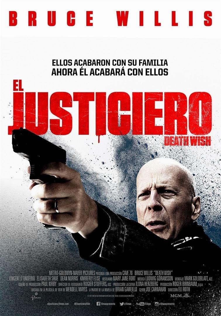 """Pósters de la película """"El justiciero"""""""