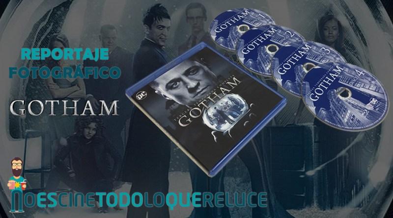 'Gotham - Temporada 3': Reportaje fotográfico y análisis de la edición Blu-ray