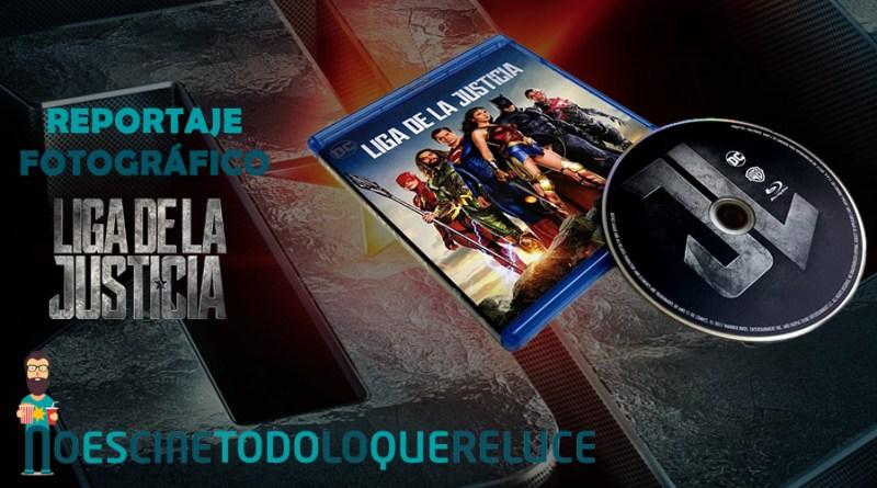 'Liga de la Justicia': Reportaje fotográfico y análisis de la edición Blu-ray