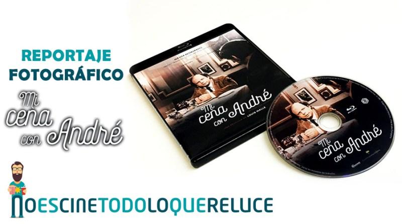 'Mi cena con André': Reportaje fotográfico y análisis de la edición Blu-ray