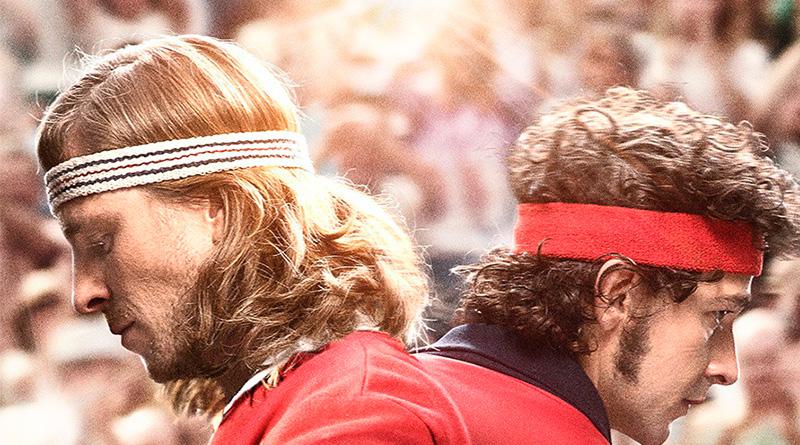 'Borg McEnroe': Póster internacional de la historia sobre una gran rivalidad