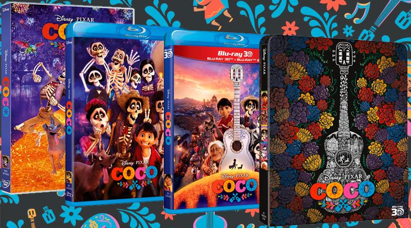 'Coco': Ya a la venta en DVD, Blu-ray, Blu-ray 3D y Steelbook
