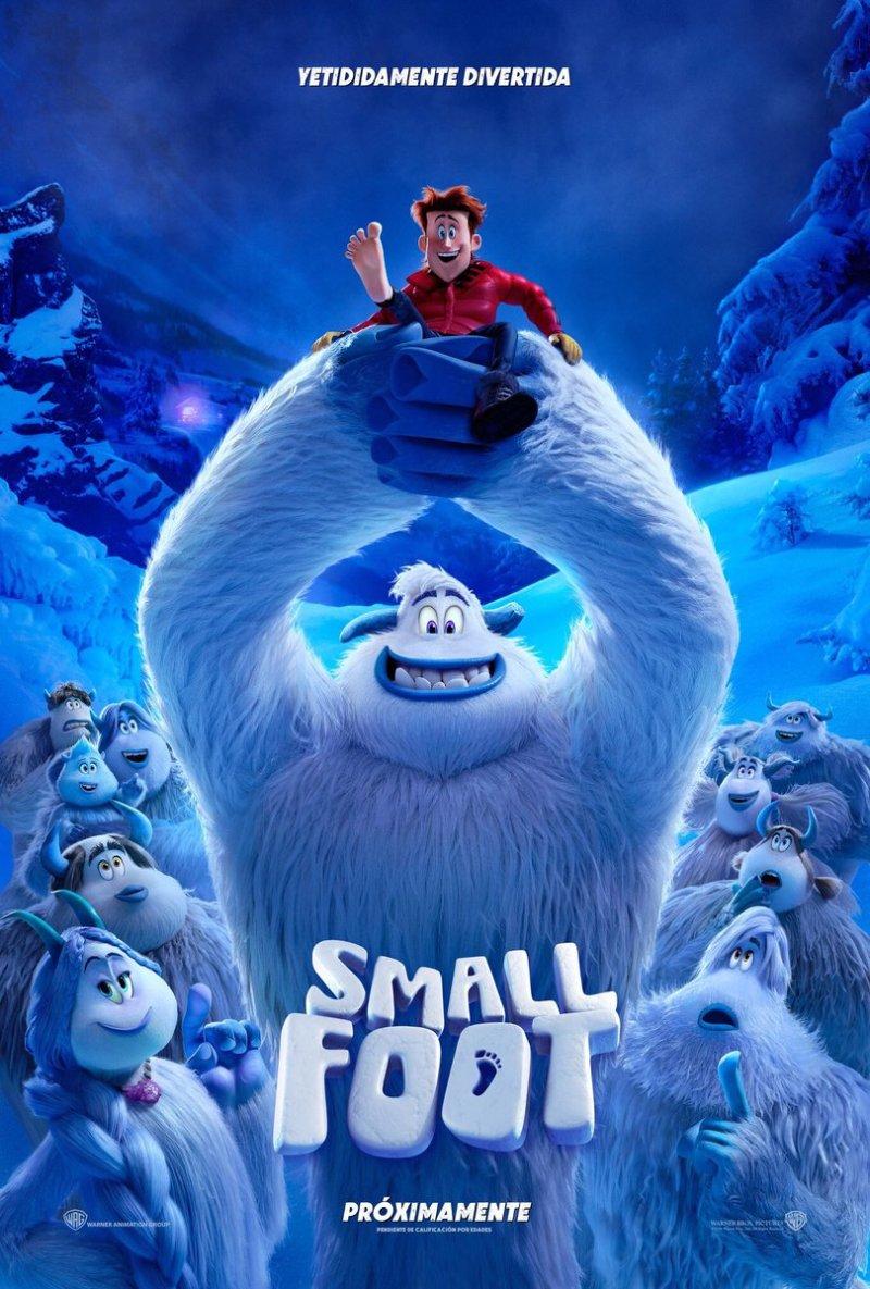 'Smallfoot': Póster y tráiler de esta película Yetididamente divertida