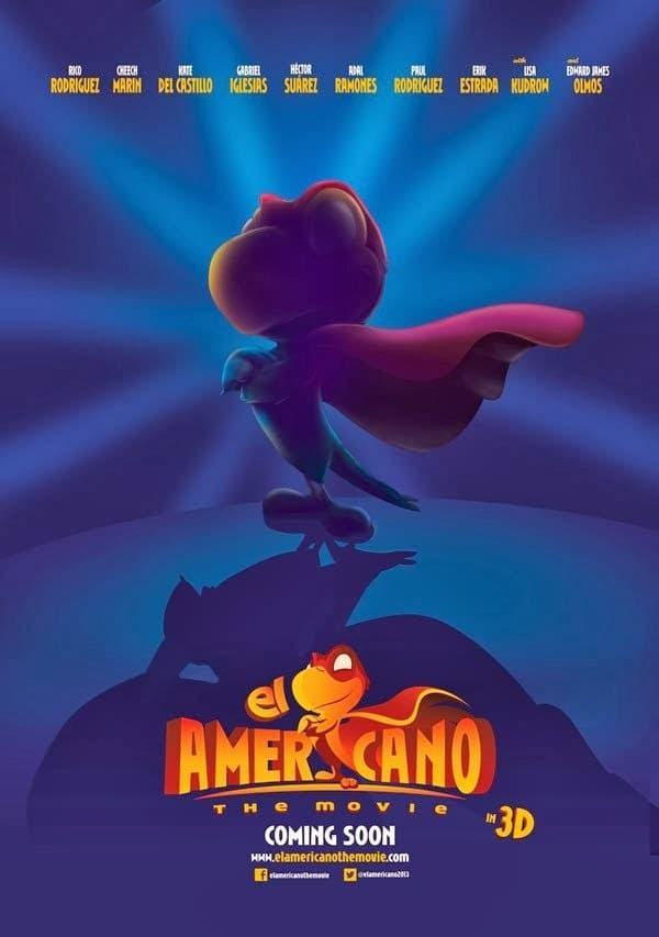 """Pósters de la película """"El Americano: The Movie"""""""