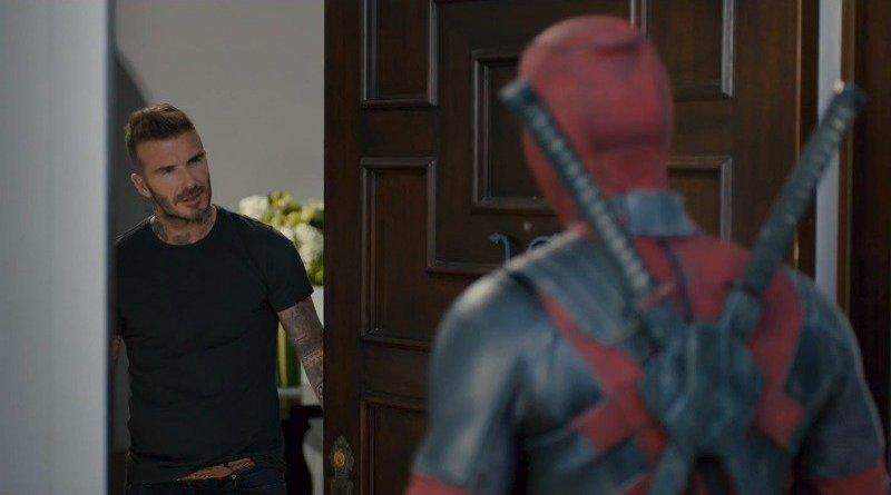 'Deadpool 2': Deadpool se disculpa ante David Beckham