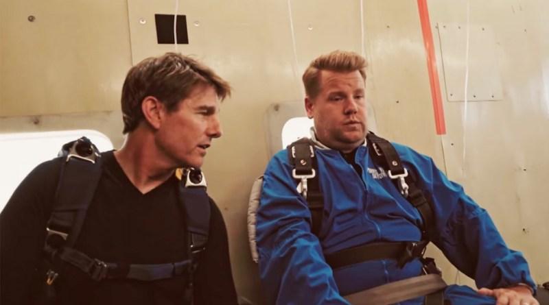 'Misión: Imposible - Fallout': Tom Cruise lleva al límite al presentador James Corden