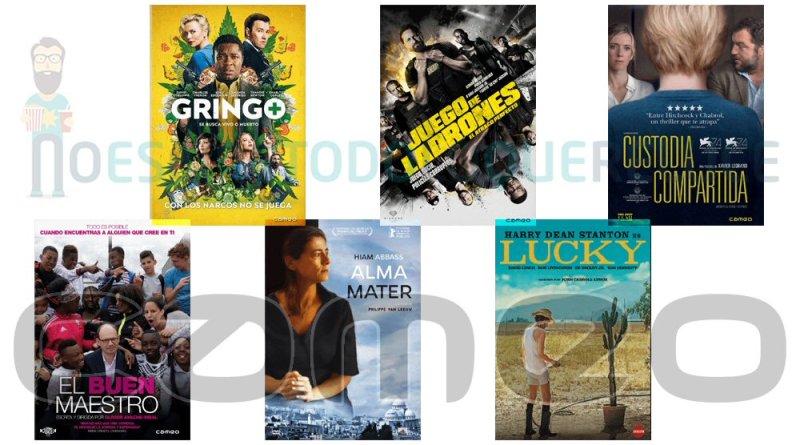 Lanzamientos de agosto en DVD y Blu-ray de Cameo