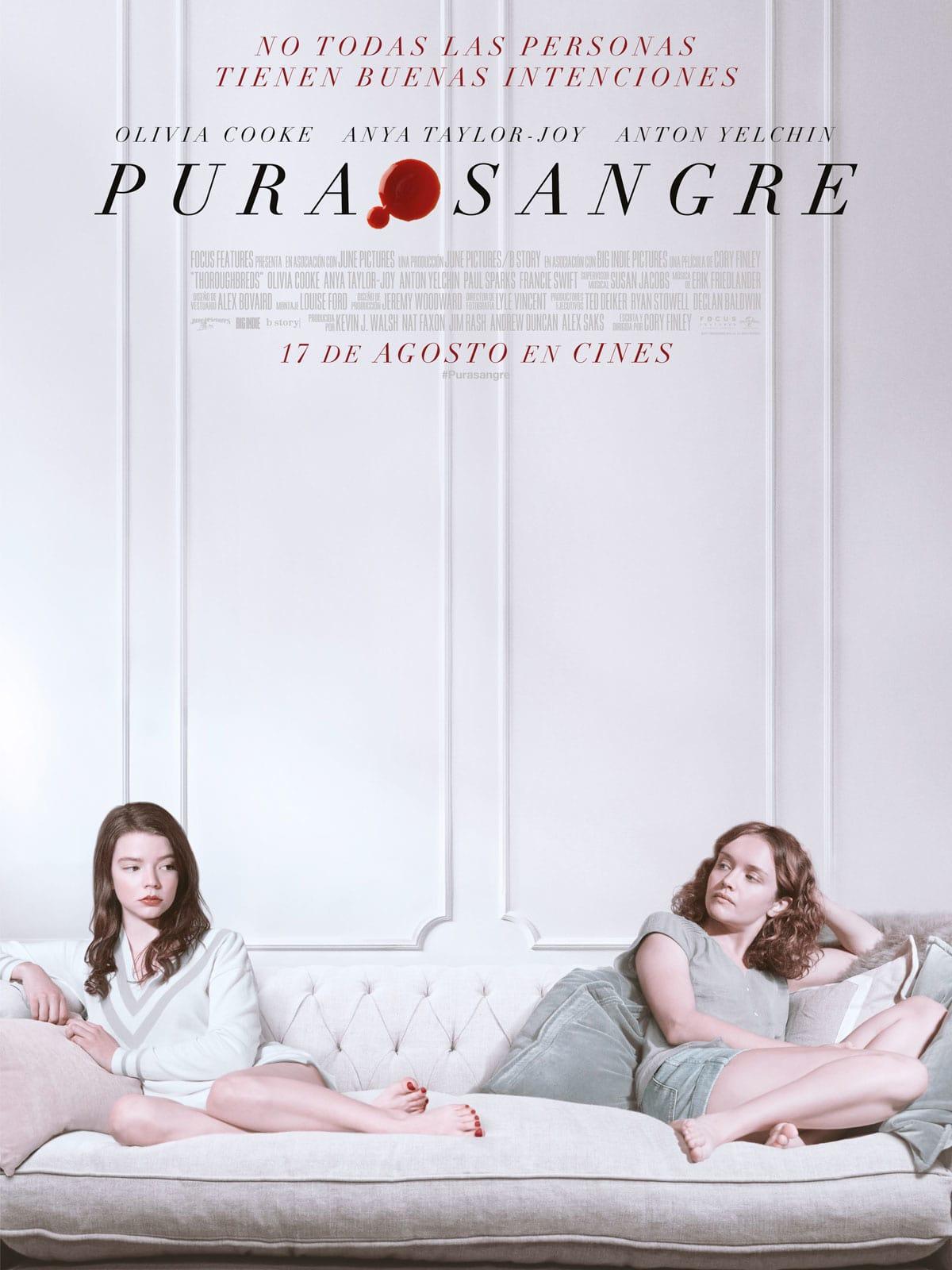 """Pósters de la película """"Purasangre"""""""