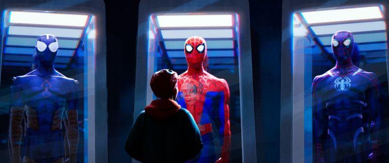 'Spider-Man: Un nuevo universo': Los diferentes trajes de Peter Parker en una nueva imagen