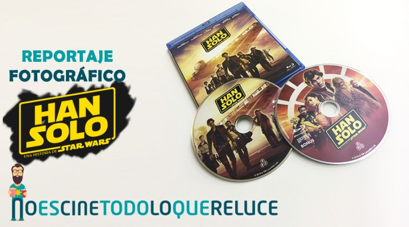 Han Solo: Una historia de Star Wars (Bluray)