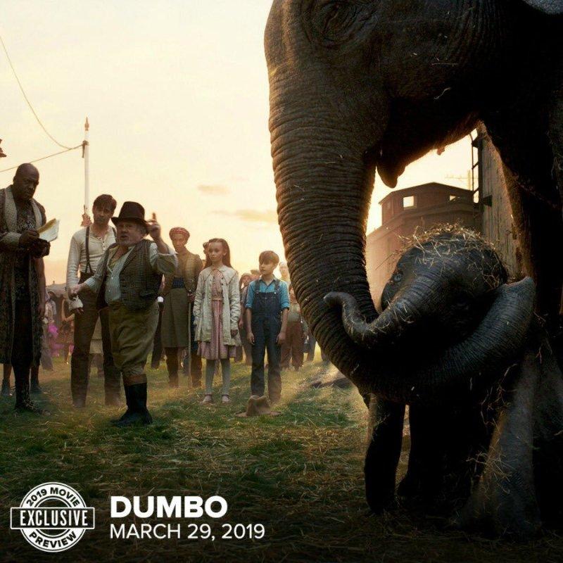 'Dumbo': Nueva imagen del remake en acción real dirigido por Tim Burton