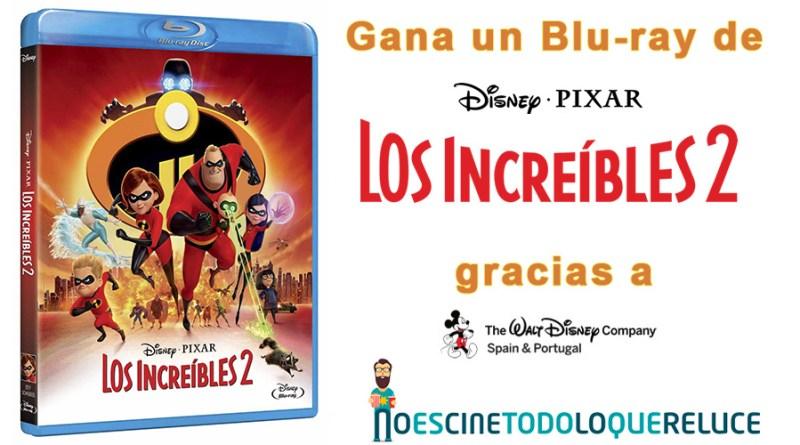 Sorteo 'Los Increíbles 2': Tenemos Blu-rays de la película para vosotros