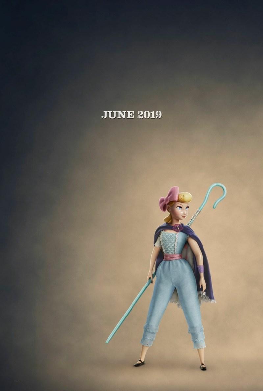 'Toy Story 4': Bo Peep deja ver su nuevo look en un póster y un pequeño avance