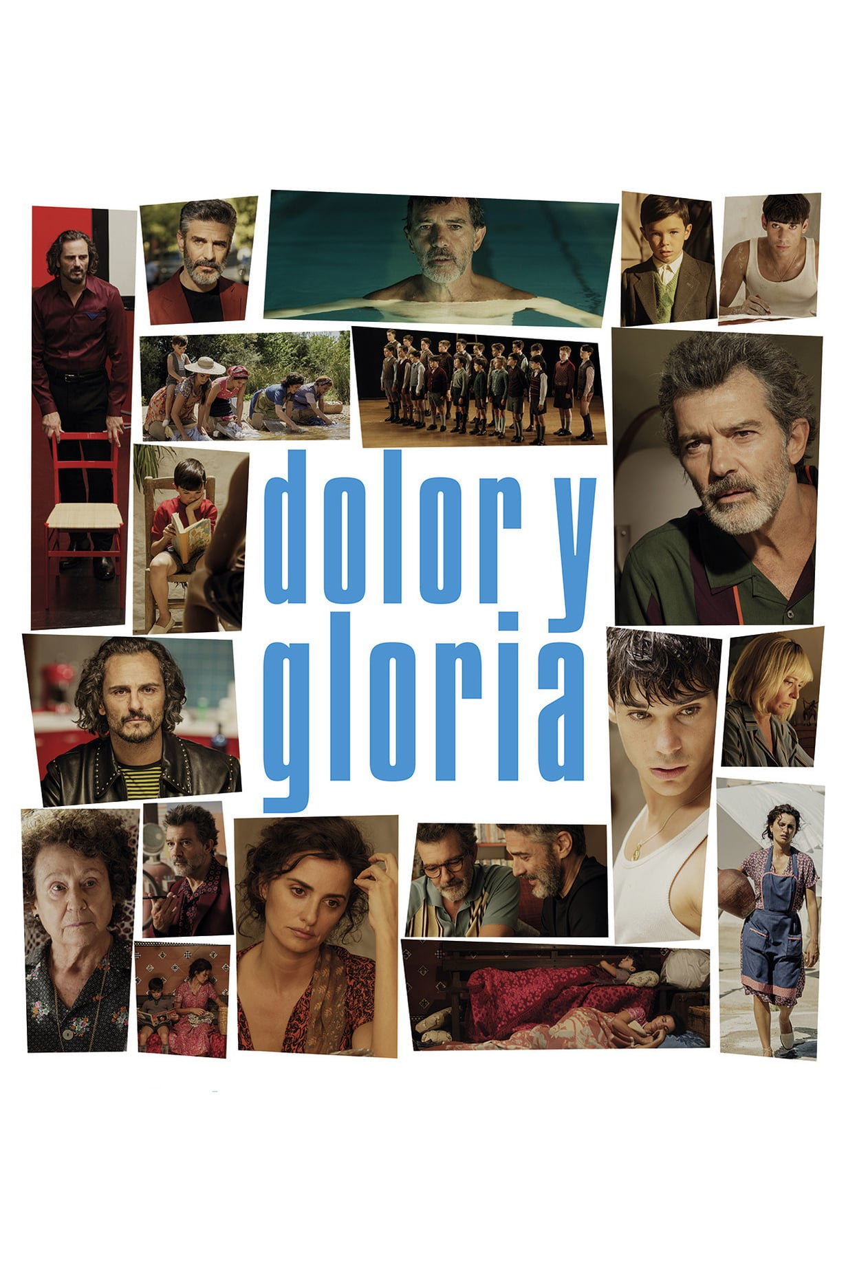 """Pósters de la película """"Dolor y gloria"""""""