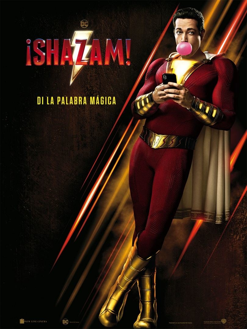 "Pósters de la película ""Shazam!"""
