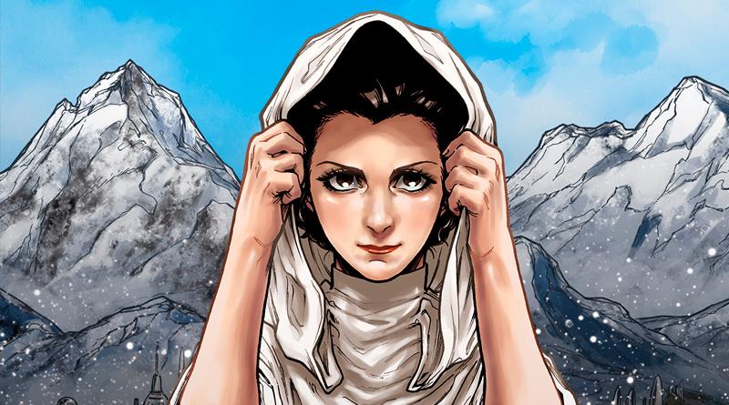 En mayo se lanzará 'Star Wars: Leia Ōjo no Shiren', un manga centrado en Leia Organa