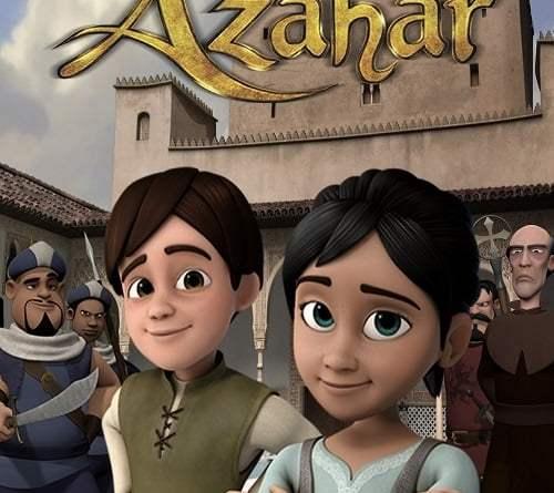 """Pósters de la película """"Azahar"""""""