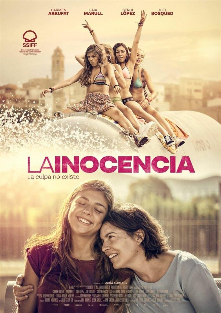 """Pósters de la película """"La inocencia"""""""