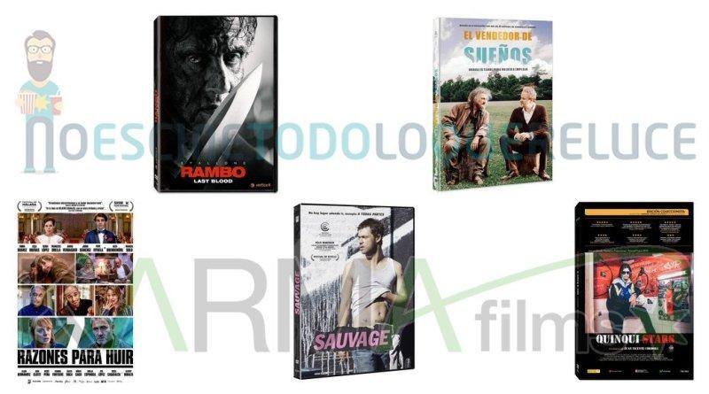 Lanzamientos de febrero en DVD y Blu-ray de Karma Films