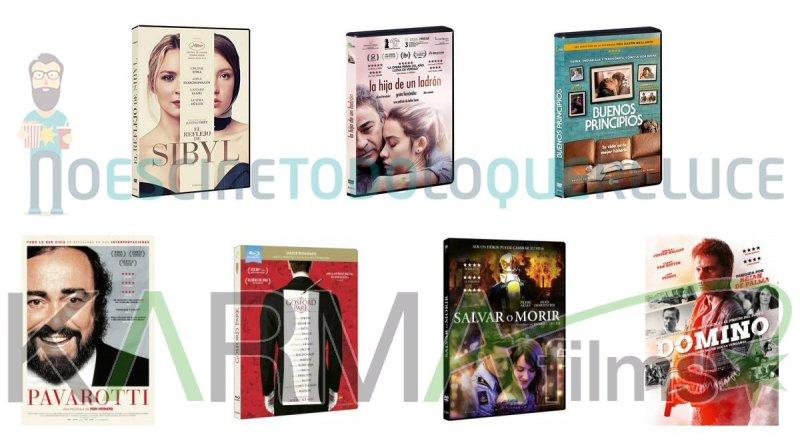 Lanzamientos de mayo en DVD y Blu-ray de Karma Films