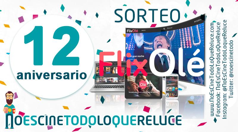 Sorteo 12º aniversario: Suscripciones anuales a FlixOlé