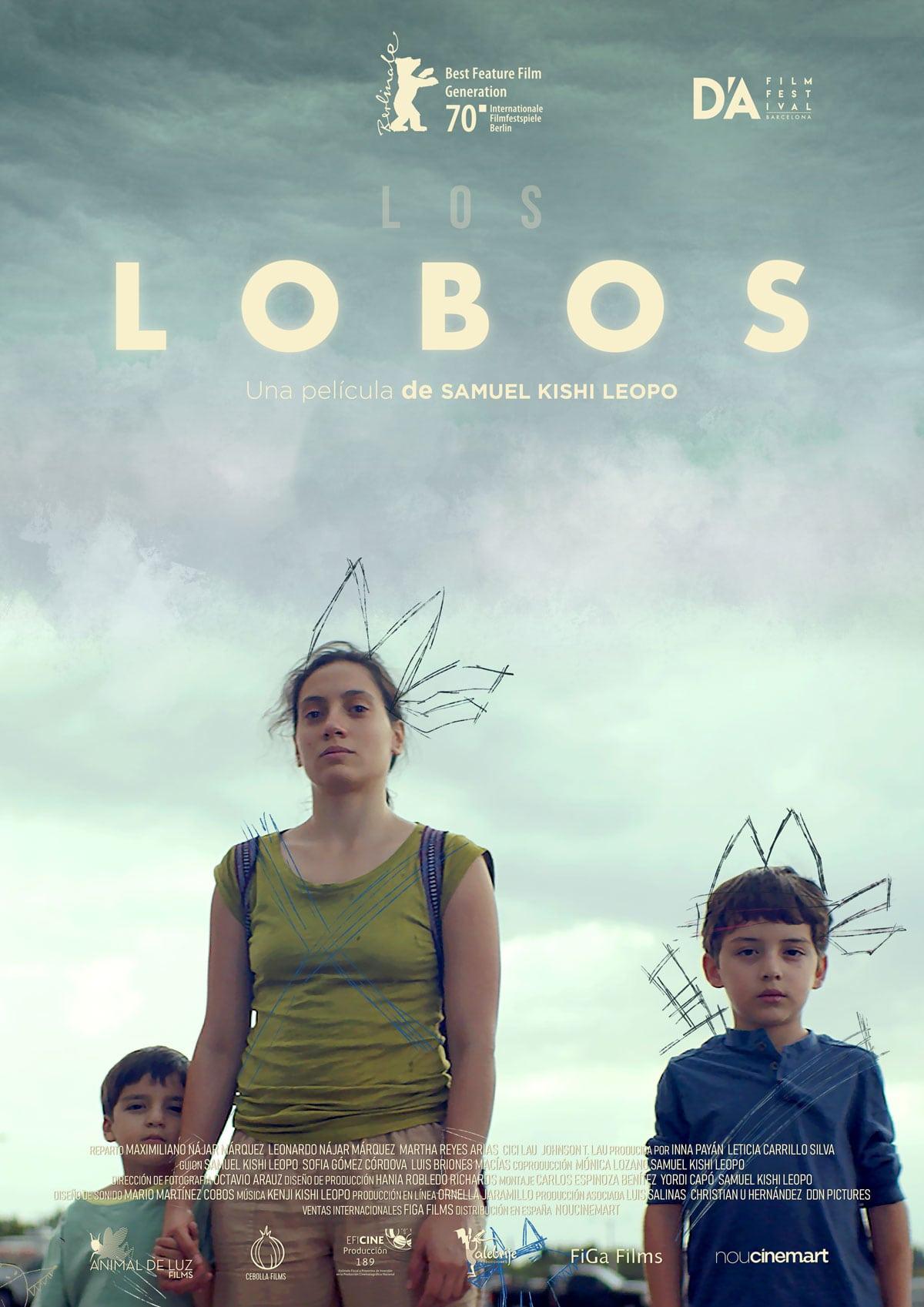 """Pósters de la película """"Los lobos"""""""