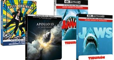 'Tiburón', 'Granujas a todo ritmo' y 'Apolo 13' celebran sus aniversarios con cuidadas ediciones