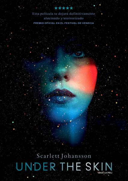 "Pósters de la película ""Under the skin"""