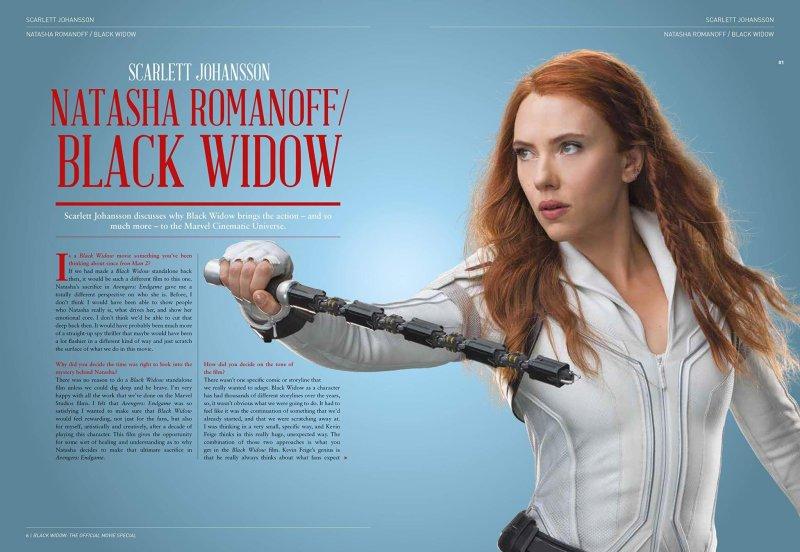 Viuda Negra: Scarlett Johansson como Natasha Romanoff