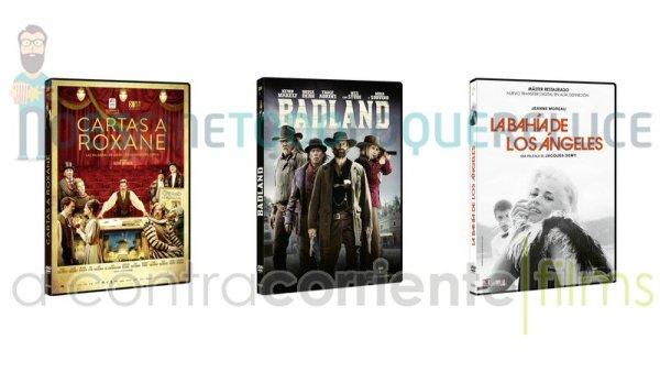 Lanzamientos de septiembre en DVD y Blu-ray de A Contracorriente Films