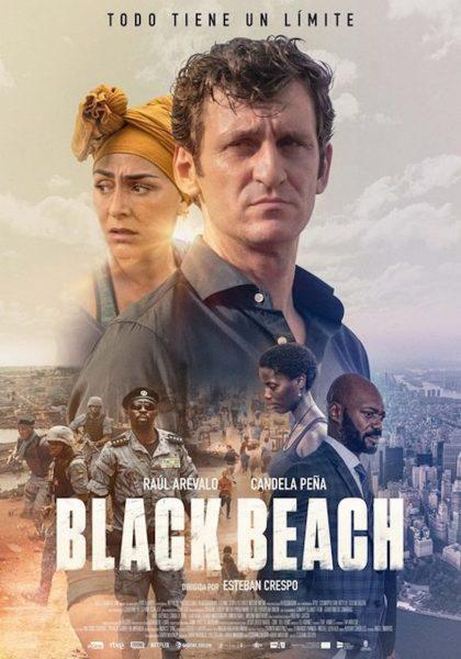 """Pósters de la película """"Black Beach"""""""