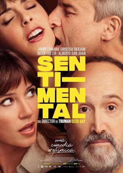 """Pósters de la película """"Sentimental"""""""