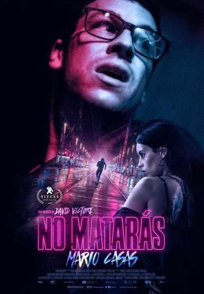"""Pósters de la película """"No matarás"""""""