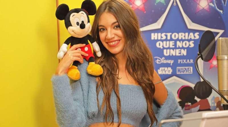 """Ana Guerra interpreta la canción del corto """"Historias que nos unen"""" de Disney"""
