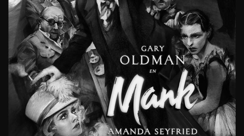 """Pósters de la película """"Mank"""""""