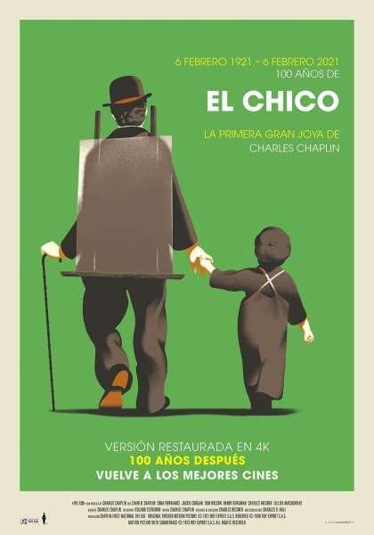 """Pósters de la película """"El chico"""""""